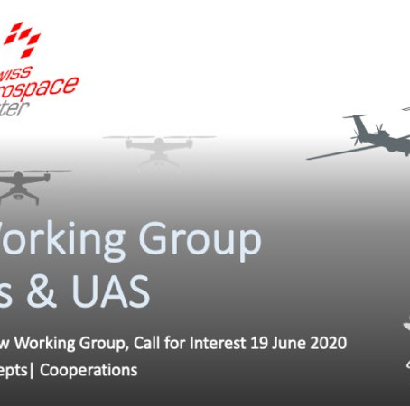 New Working Group Drones & UAS