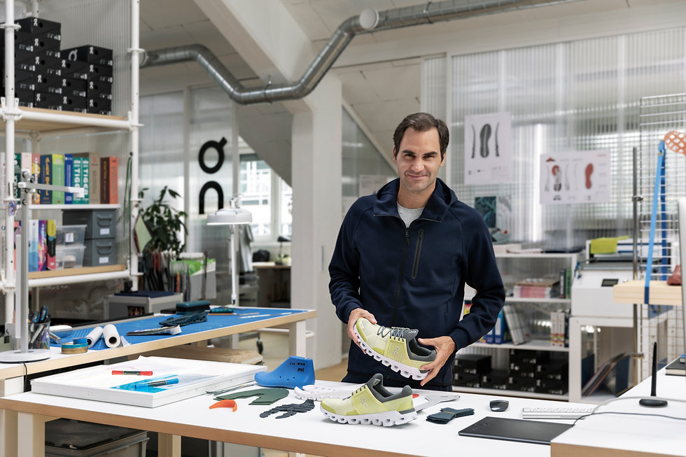 Roger Federer joins On Running - Enduro Supply - Leading Distributor of Sports and Lifestyle goods in Middle East
