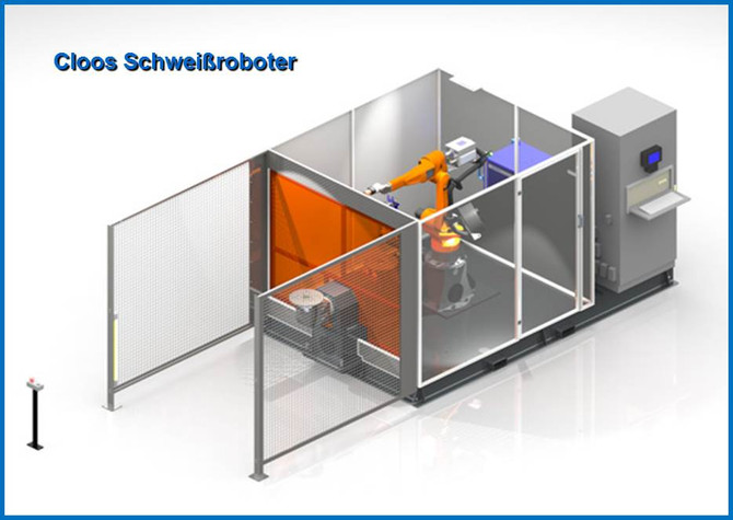 Cloos Schweißroboter QIROX QRC 320-H