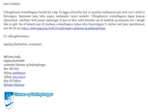 Hefðbundinn skóladagur fimmtudaginn 8. október