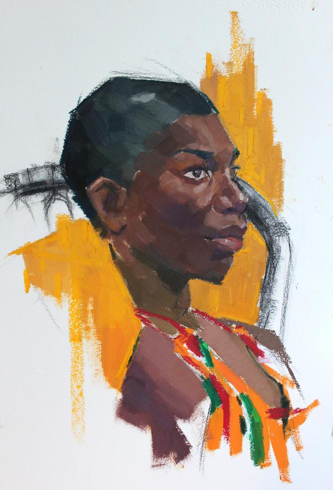 Portrait of Michaela Coel
