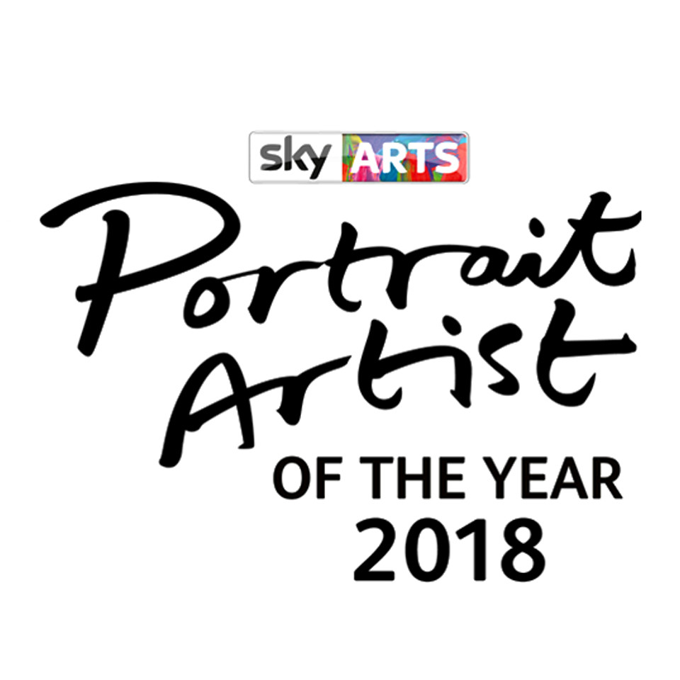 Delighted to be featured on the new season of Portrait Artist of the Year! You can catch my 5 minutes of fame next week Tuesday 16th @ 8pm on Sky Arts!