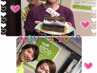 アツコトレーナーのお誕生日!
