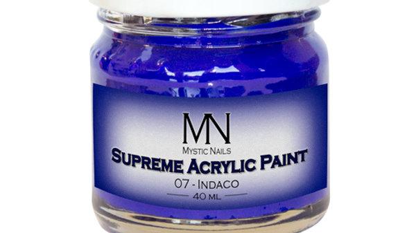 Supreme Acrylic Paint-07- Indaco 40ml