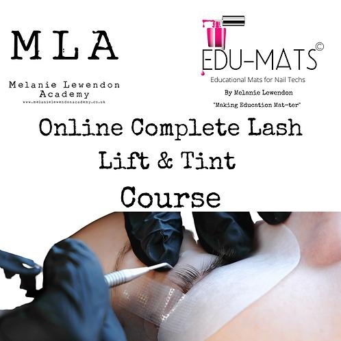 Online Complete Lash Lift