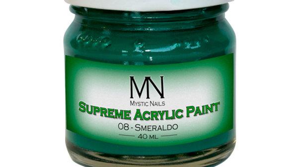 Supreme Acrylic Paint- 08-Smereldo-40ml