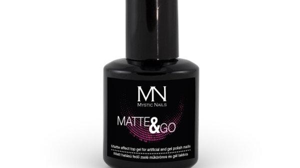 Matte & Go Topcoat 10ml