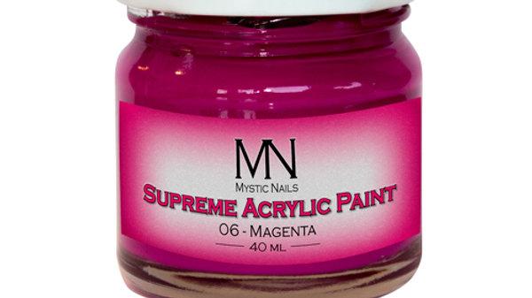 Supreme Acrylic Paint-06- Magenta 40ml