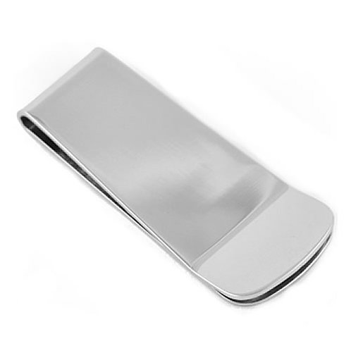 MC-03 SMALL STAINLESS STEEL MONEY CLIP