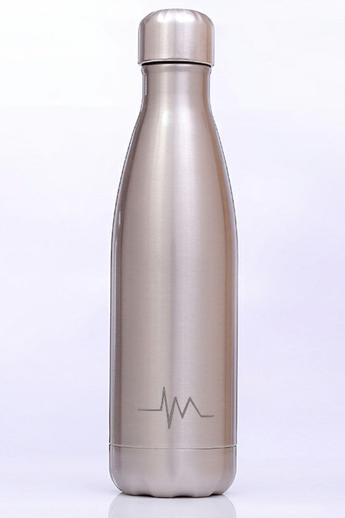 W-01 500 ml/16.9 oz DOUBLE WALL STAINLESS STEEL WATER BOTTLE