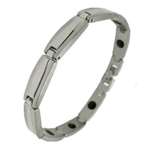 BSS-35 STAINLESS STEEL PLATED BRACELET