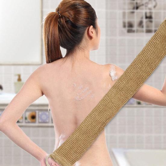 Fashion Washing Towel Sword Hemp Back Bath Strip Towel