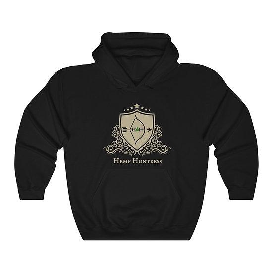 Hemp Huntress - Unisex Heavy Blend™ Hooded Sweatshirt