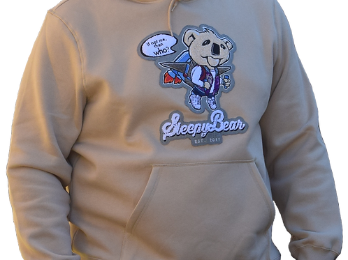 Sleepy Bear - Chenille Hoodie - Limited Edition