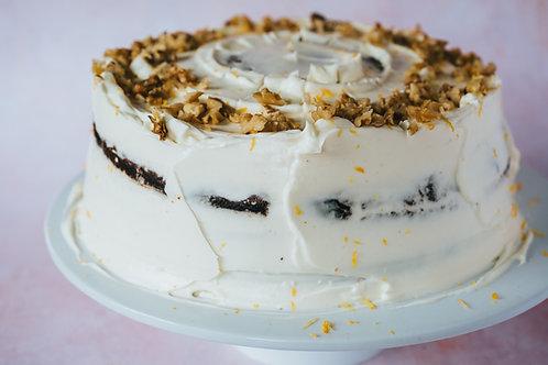 Carrot cake celebration cake