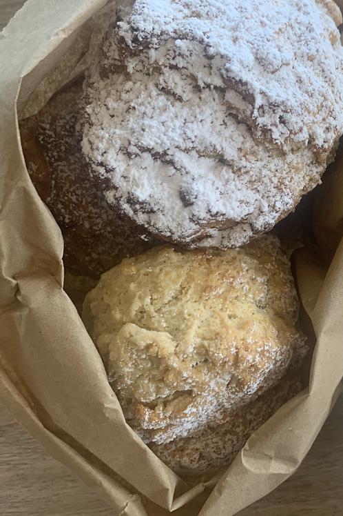 Plain scones (5 portions)