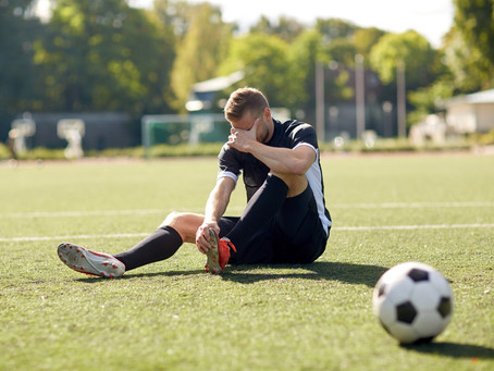5 common Football (soccer) Injuries