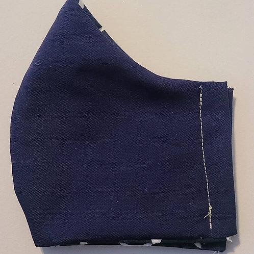 Men's 3 layer fabric mask
