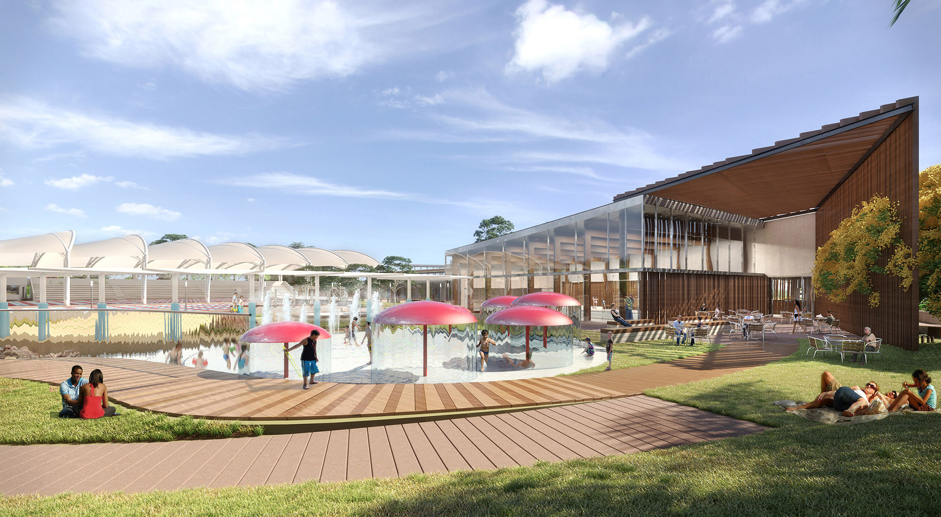 Aquatic Centre Design