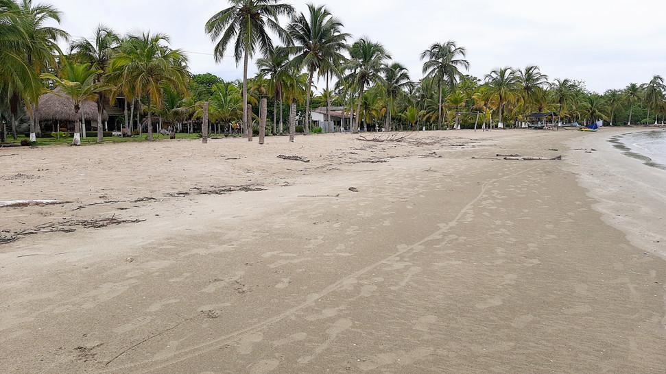 Playas muy amplias