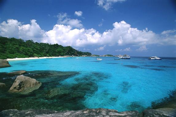 Phang Nga Beach Rock