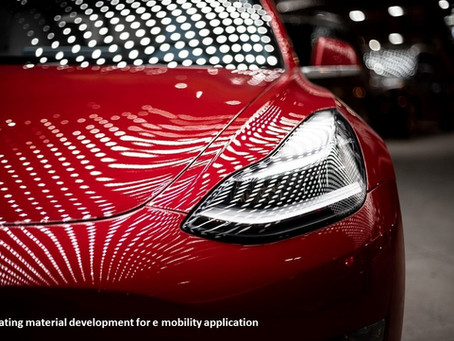 E-mobility pushes new developments on coating materials