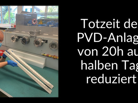 SwissNeutronics verlängert mit TWIN-Wire-Arc-Spray die Wartungsintervalle  um das Vierfache