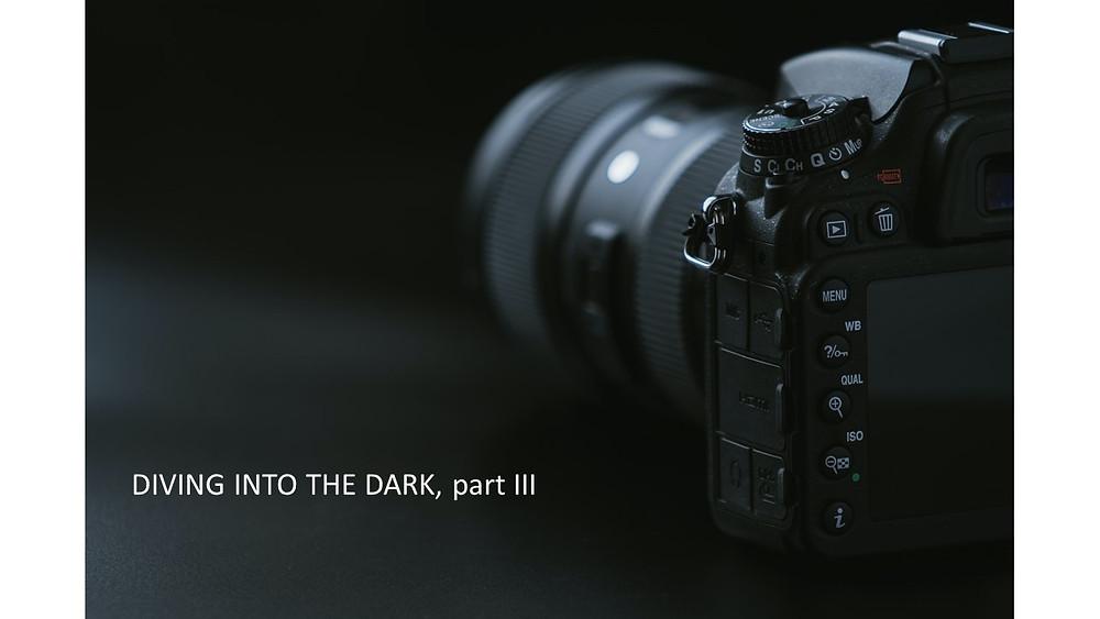 decorative coatings / deep black pvd coated camera