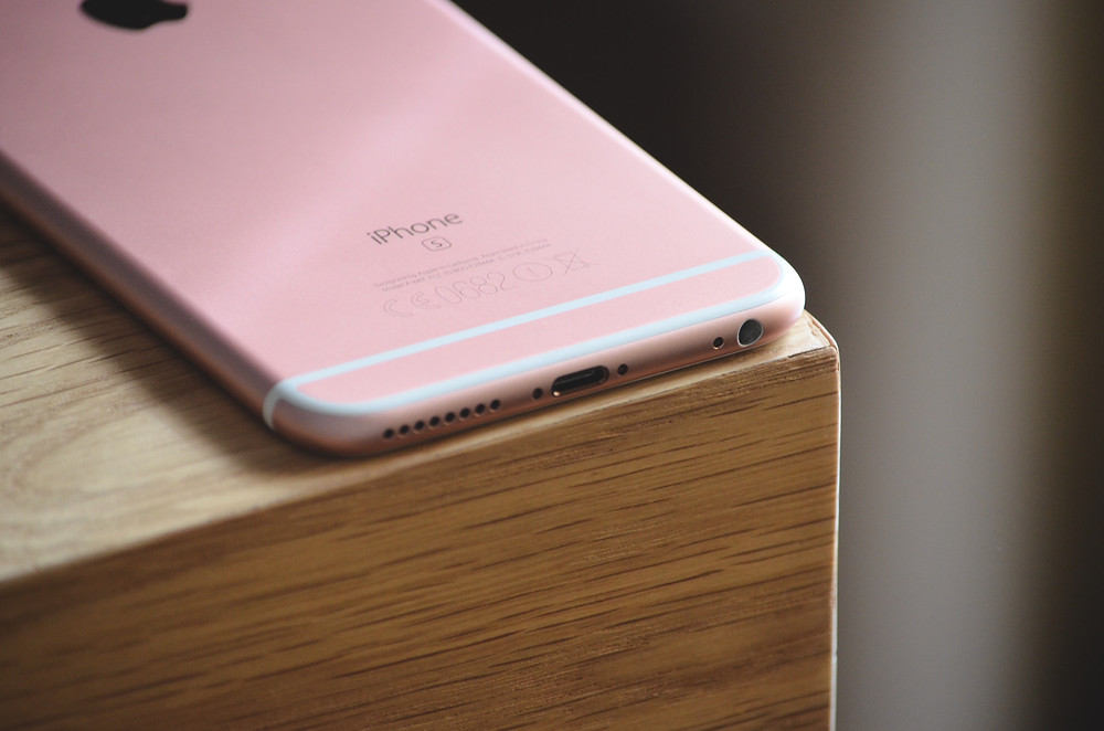 PVD Coating Rose Gold iPhone