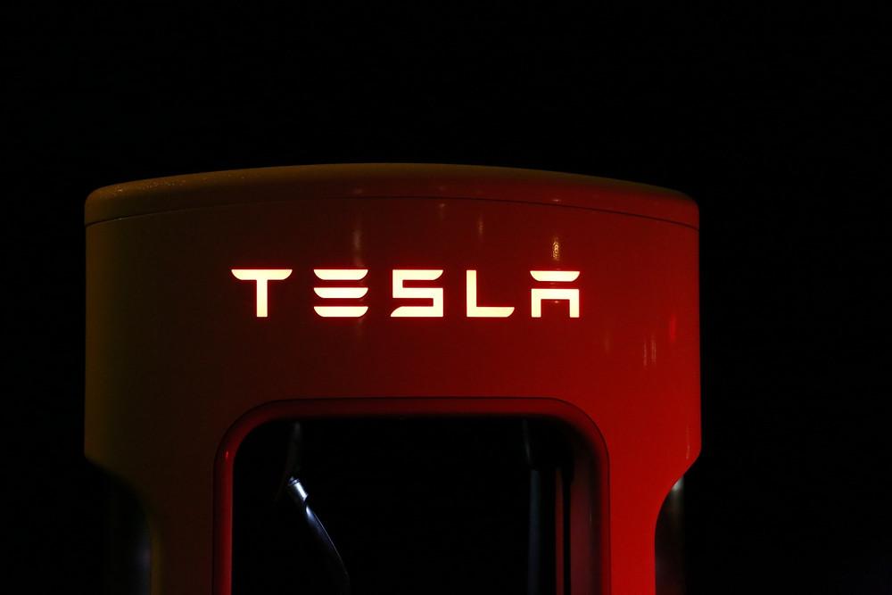 PVD coating Tesla supercharger