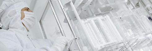 Präzisionsreinigung PVD Anlagen