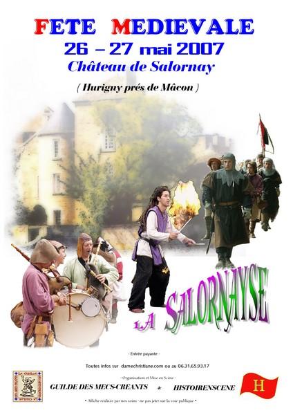 Château de Salornay (71)