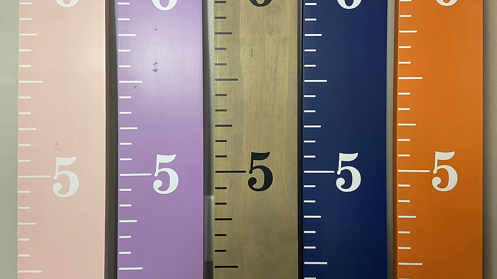 6' Growth Charts