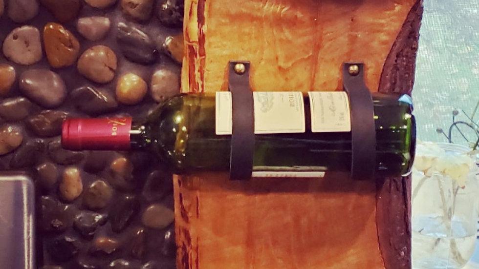 Live Edge Wine Rack
