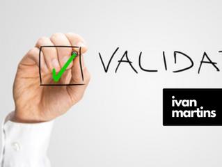 Teste de validação para a missão, visão e valores de sua empresa