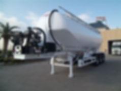 купить цементовоз, алюминиевый цементовоз, полуприцеп для сухих смесей, полуприцеп цистерна