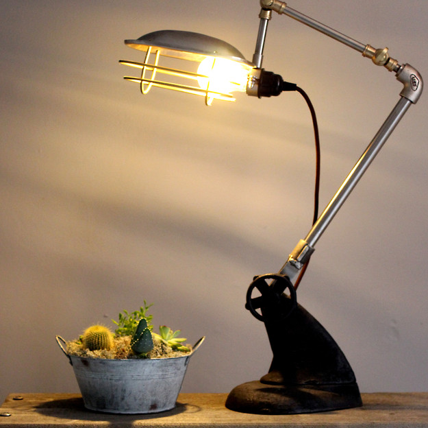INDUSTRIAL  LAMP  £125.00