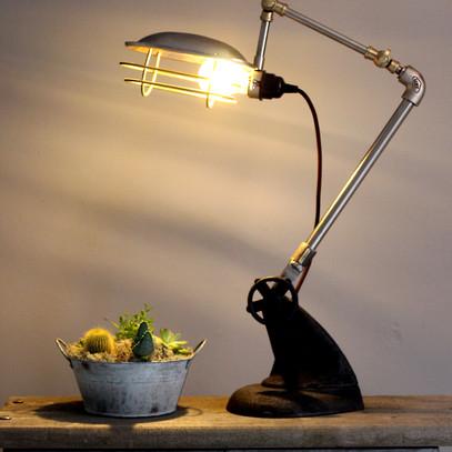 INDUSTRIAL  LAMP  £125.00