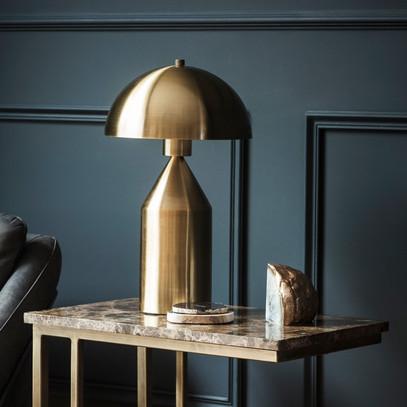 GOLD  LAMP