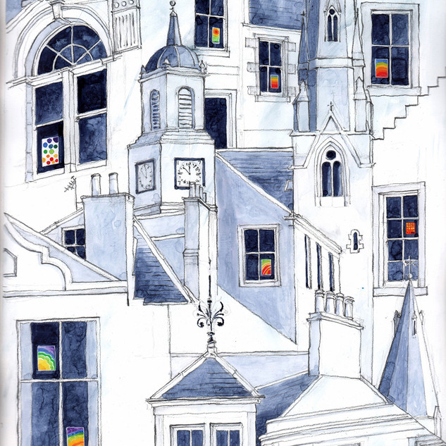 Ronnie Cruwys - Finial, Spires and Chimn