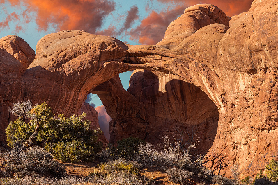 Double Arch - Grand County, Utah