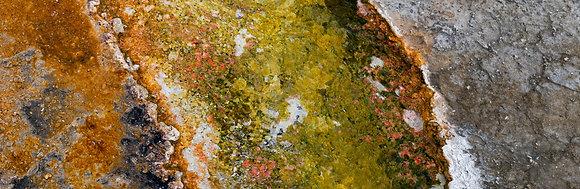 Yellowstone Water Formations - Panorama