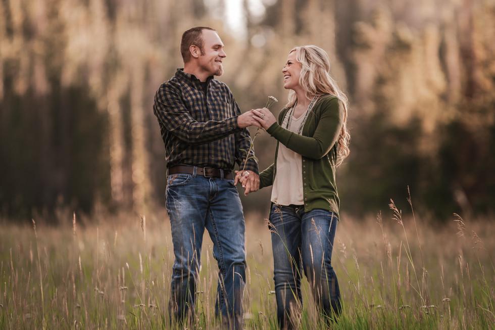 Adventure Engagement Photography