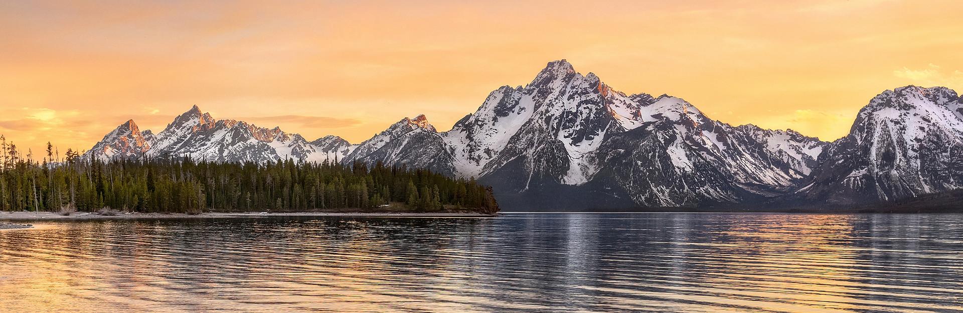 Grand Teton National Park - Panorama