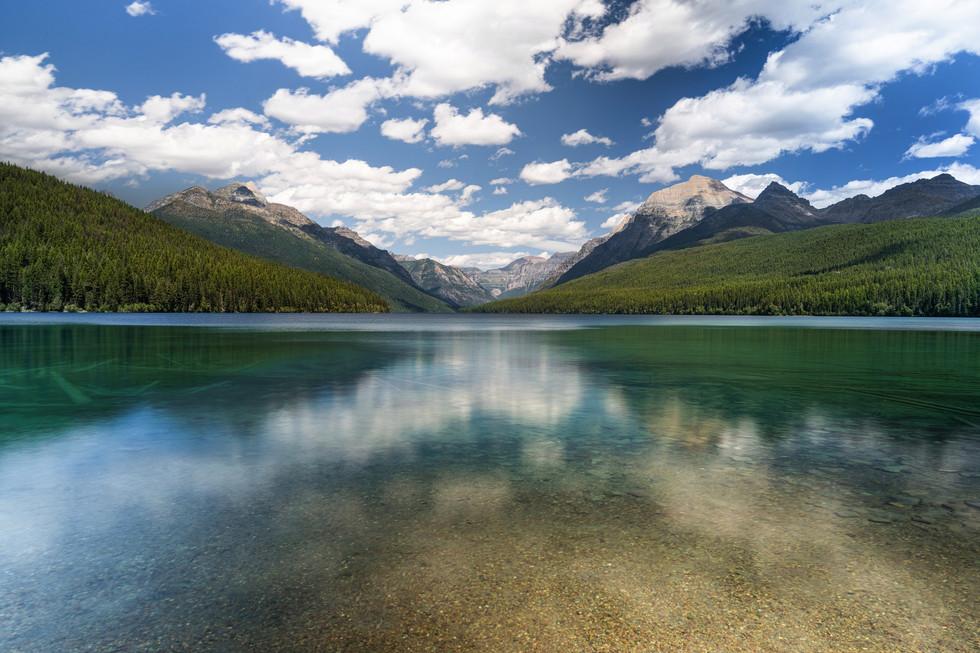 Lake Macdonald - Glacier National Park - Montana