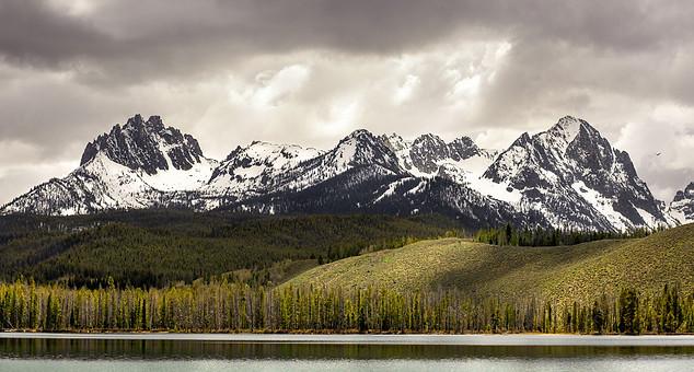 Sawtooth Mountains - Stanley, Idaho