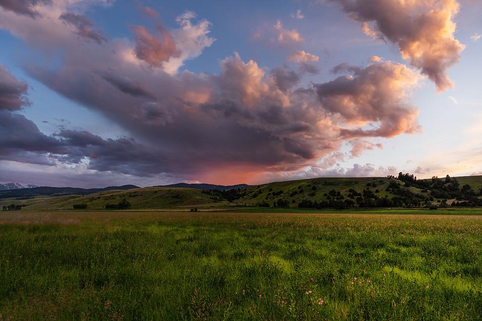 Sunset - Bozeman, Montana