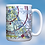 Thumbnail: Custom U.S. Aeronautical Chart 15oz Ceramic Mug
