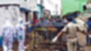 টোটো বিস্ফোরণে ঘটনাস্থলে আজ তদন্তে ফরেনসিক দল