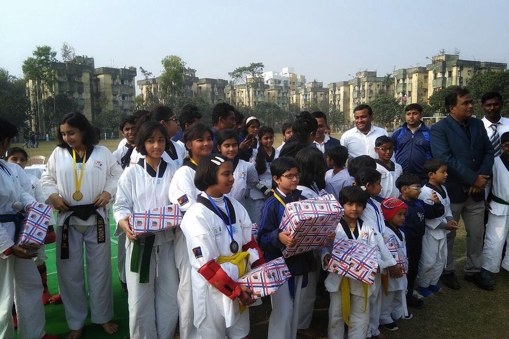 English Bazar Police Station organised Taekwondo